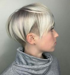 Stylish Undercut | Skeptical of a new haircut? These 7 sexy summer short hairstyles will inspire you to chop off your long locks.