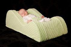 Nap Nanny Baby Recliner - looks so much more comfortable than a flat crib mattress!
