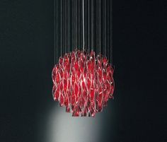 Pendant Lights in Murano Glass. Aura-Axo Light-Manuel Vivian