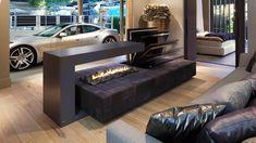 Forest view home design - Kolenik Fireplace Design, Gas Fireplace, Forest View, Beautiful Villas, Top Interior Designers, Outdoor Furniture Sets, Outdoor Decor, Sustainable Design, Living Room Designs