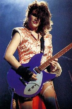 Wendy Melvoin from the Revolution