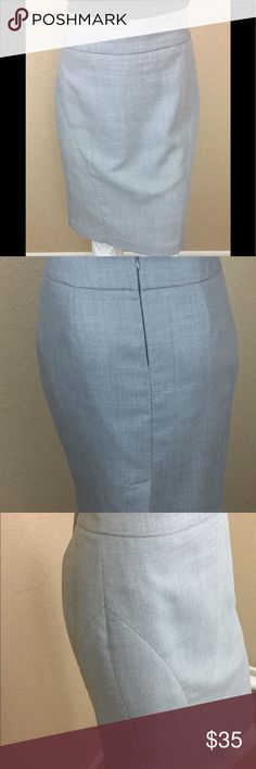 Banana Republic Pencil Work Office Skirt Great Banana Republic Pencil Skirt! This skirt is a working professional staple piece. Wonderful for the office with a silky button down blouse or with a shell and blazer for a business meeting. Has a little peeling at the sides from wearing (shown in photo), but still in lovely condition. The sides has a nice sewn decoration for visual interest, but still a basic piece. Banana Republic Skirts Pencil