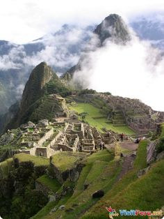 Of course, Macchu Picchu -- my dream travel destination since I was 12.