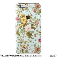 WILLIAMSBURGFLORAL iPhone Deflector Case BEALEADER Uncommon Clearly™ Deflector iPhone 6 Plus Case