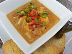 What's cooking in the burbs: Slow Cooker Bacon Cheeseburger Soup