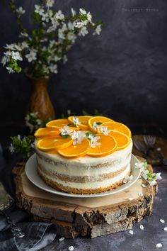 Narancskrémes torta - DESSZERT SZOBA Fall Cakes, Pretty Cakes, Allrecipes, Fondant, Healthy Snacks, Sweet, Weddings, Food, Deserts