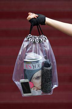 artlex blog DIY sac transparent