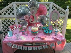 Party by Emily Swain Princess Party, Parties, Party Ideas, Table Decorations, Birthday, Girls, Home Decor, Fiestas, Birthdays