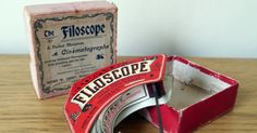 Filoscope viewer (around 1900) ~ Cinegraphica