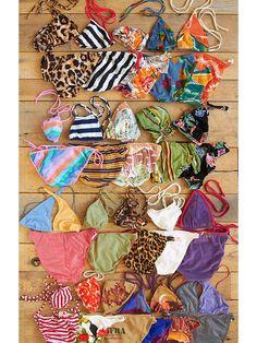 Free People Vintage 1970s French Bikinis