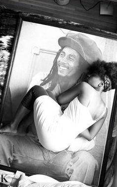 so beautiful | mr marley + his daughter..what a unique photo