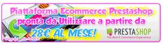 Piattaforma Ecommerce Prestashop anche per Dropshipping