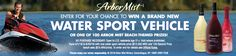 Check out this Sweepstakes for a chance to win great prizes! Great way to kick off the Summer with Arbor Mist!