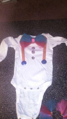 Diy infant clown costume top