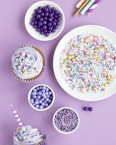 Introducing a whimsical new sprinkle mix, Sugar Plum! We love this pastel sprinkle mix with its subtle pops of gold perfect for holidays, unicorn parties, bridal events, baby showers, and more! Originally developed to match an upcoming Nutcracker party theme, its elegance can be used all year round. How perfect for a unicorn party too! #nutcrackerparty #unicornparty #pastelsprinkles #pastelpartyideas #sugarplumfairy #sugarplumfairyparty