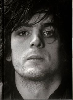 A nice black and white portrait Pink Floyd's Syd Barret