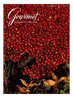 Gourmet Cover - November 1982 Poster Print by Lans Christensen at the Condé Nast Collection