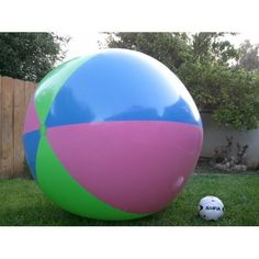 """Amazon.com: 78"""" Inflatable Large Beach Ball Party Fun, Monster Balls. Giant XXX: Toys & Games"""