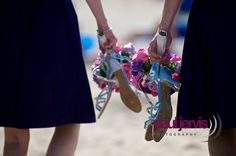 Bridesmaids wedding shoes, Paul Jervis Photography, Based Ballyclare, near Belfast, Northern Irealnd