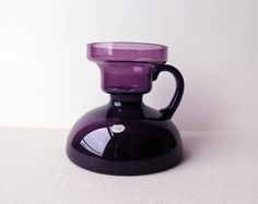 FLORIS MEYDAM  Dutch  Design  Purple Glass Vase