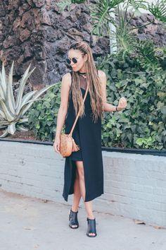 Summer Black  Dress: Elliatt c/oBag: MCMShoes: Kenneth Cole...