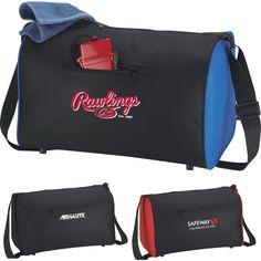 d56ea4238811 The Trek Duffel Bag...Zippered main compartment. Zippered front pocket.  Supportive