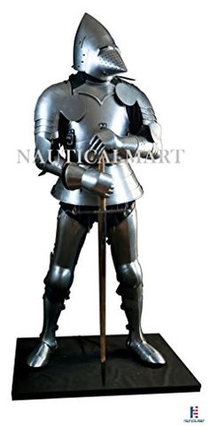 Early 15th Century Full Suit of Armor Medieval Bascinet A... https://www.amazon.com/dp/B0763KCGZ9/ref=cm_sw_r_pi_dp_x_dMN0zb4PSWECZ