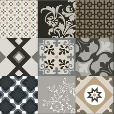 Galata wall and floor Porcelain tile range in Colour mix. Also available in 3 other colours.  www.eslceramics.co.uk