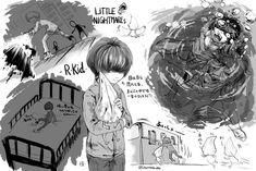 Runaway Kids, Little Nightmares Fanart, Found Art, Furry Drawing, Movie Characters, Hetalia, Video Game, Cool Art, Horror