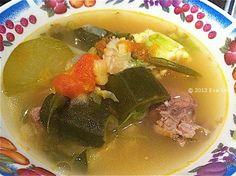 Delicious Beef soup with Caldo- Mexican soup