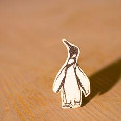 Sir Nils Olav Porcelain Penguin Brooch