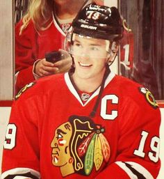 Toews why do you not smile like this more often?