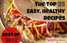 The 25 Most Popular Recipes of 2012