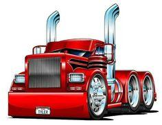 Custom Big Rigs, Custom Trucks, Custom Cars, Big Rig Trucks, Cool Trucks, Cool Cars, Cool Car Drawings, Truck Tattoo, Slammed Cars
