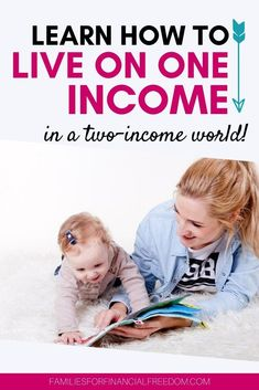 Tips on how to raise a reader including early literacy activities for toddlers and babies. Best Money Saving Tips, Ways To Save Money, Make More Money, Make Money From Home, Saving Money, Money Tips, One Income Family, All Family, Family Life