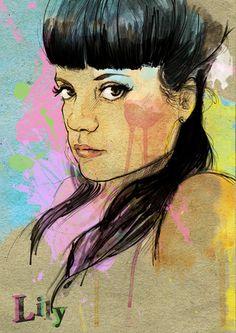 Mark Dickson Illustrator – Portraits