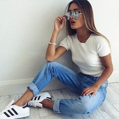 Casual via @addicted2shoes_ ❤️