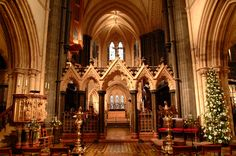 Christ Church Cathedral Dublin -Evensong Sung by the girls choir- Dublin Travel, Ireland Travel, Cathedral Church, Just Dream, Dublin Ireland, Art And Architecture, Trip Planning, Barcelona Cathedral, Christ