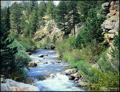 Big Thompson River in Colorado