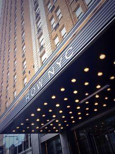 Row NYC. Theatre District. New York City