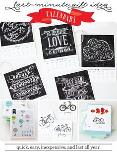 The Procrastinator's Gift Guide to Easy and Affordable giving!