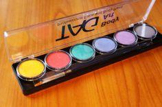 Аквагрим TAG набор из 6 пастельных цветов