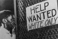 Open racism was accepted due to the Jim Crow segregation laws.