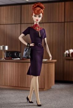 Mad Men Joan Holloway   bfmc-mad-men-dolls   The Barbie Collection