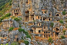 'The Necropolis of Ancient Myra - Lycia, Turkey' by Hercules Milas - 2020 World Travel Populler Travel Country Piercings, Natural Preservatives, Moda Emo, Hercules, Antalya, Archaeology, Travel Mug, City Photo, Places To Go