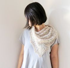 early in june shawl by ravelry user yellowcosmo / in quince & co. sparrow