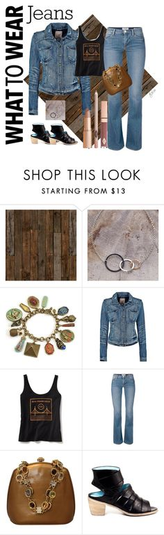 """""""East Bay"""" by tonya-lee ❤ liked on Polyvore featuring NLXL, Sweet Romance, Old Navy, Judith Leiber and Denimondenim"""