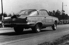 Richard Petty's drag racer.