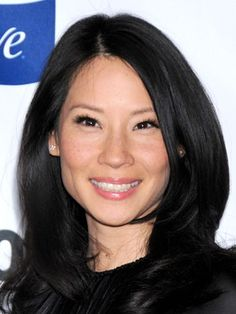 Lucy Liu's luscious locks