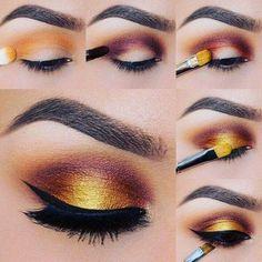 easiest eye makeup tutorials for busy ladies